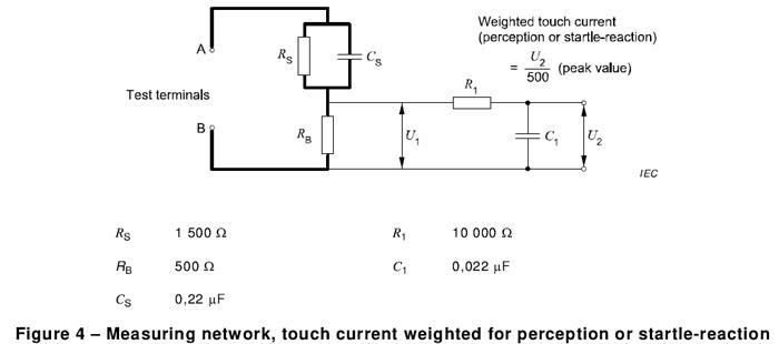 IEC60598-1 接触电流测试网络(G.2)AG990F4