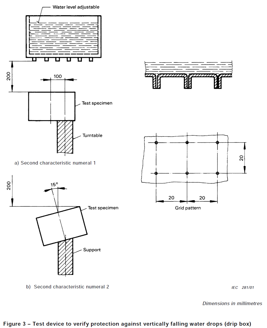 IEC60598-1 IPX1~IPX7全功能淋雨试验机(9.2.3~9.2.8)AGIPX17