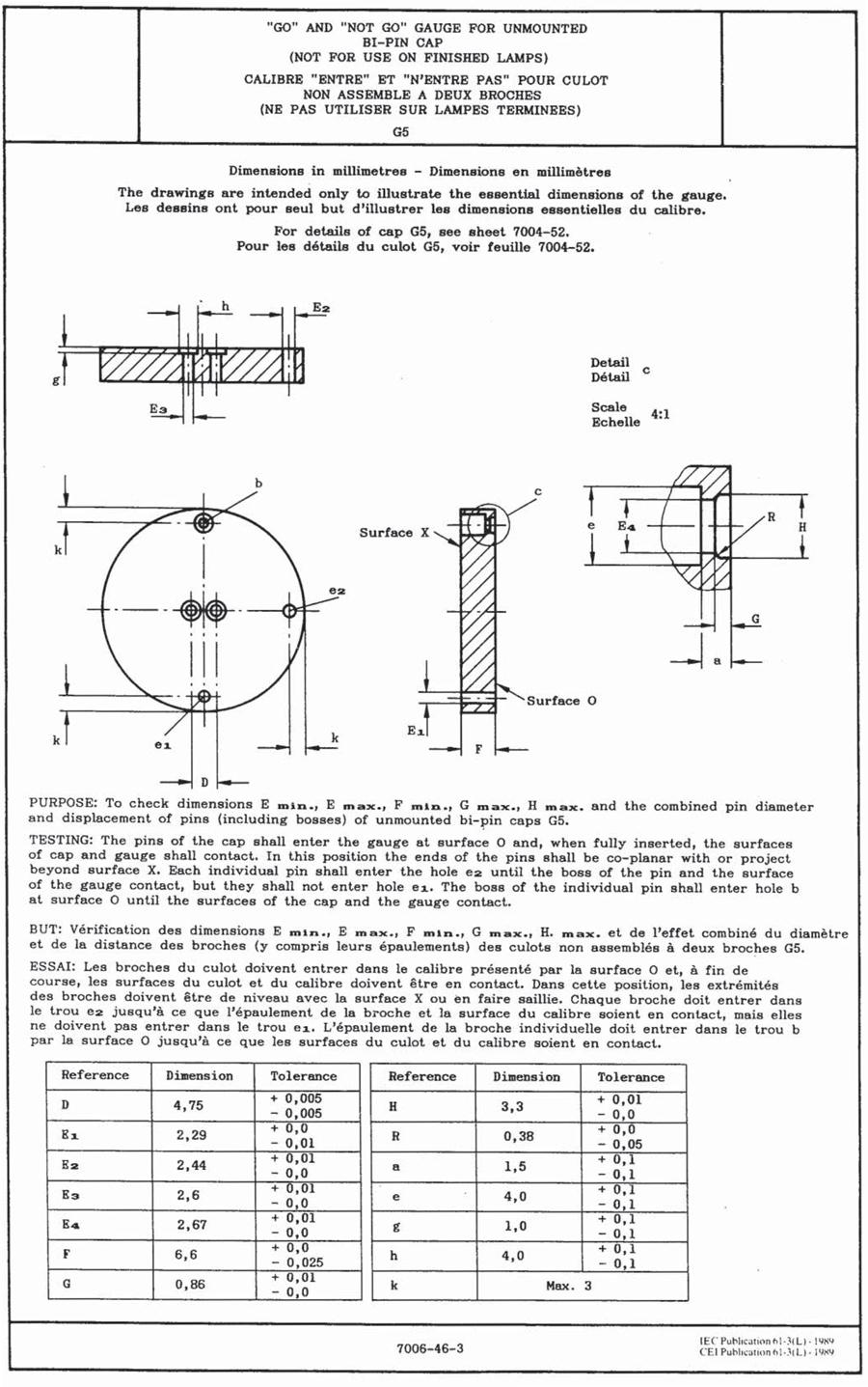 G5灯头量规-AGG5C